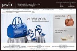 Screenshot Javari.de