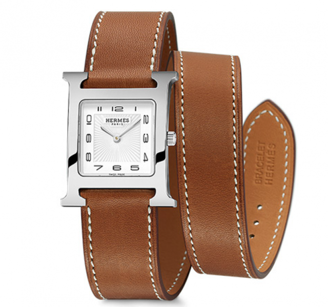 Hermes-Heure-H-Watch-Uhr-Double-Tour