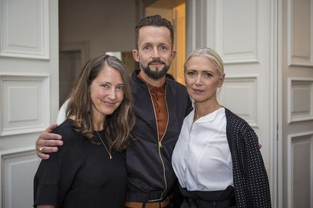 Ann-Sofie Johannson, Thorsten Mindermann, Christiane Arp Kopie