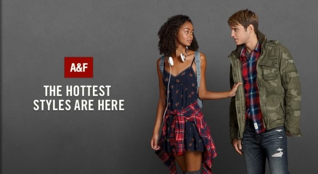 Abercrombie And Fitch Werbung