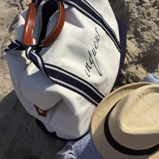 Strand_Beachbag_Strandtasche_Ostsee_Weekender_Inspiration_enquer_maritim_Outfit_Shorts_blau_012