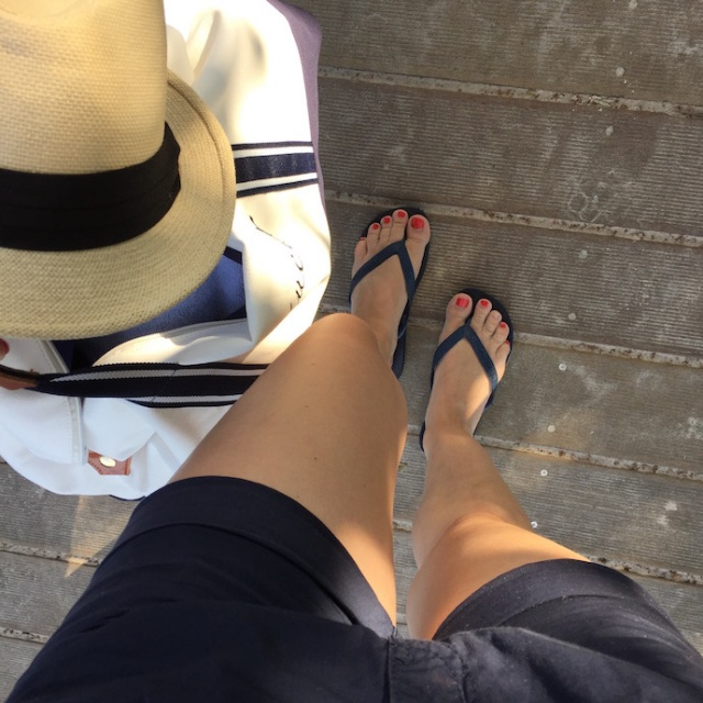 Strand_Beachbag_Strandtasche_Ostsee_Weekender_Inspiration_enquer_maritim_Outfit_Shorts_blau_015
