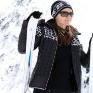 Ski Outfit mit Toni Sailer, Bogner, Ray-Ban und Galtür Alpenpanorama